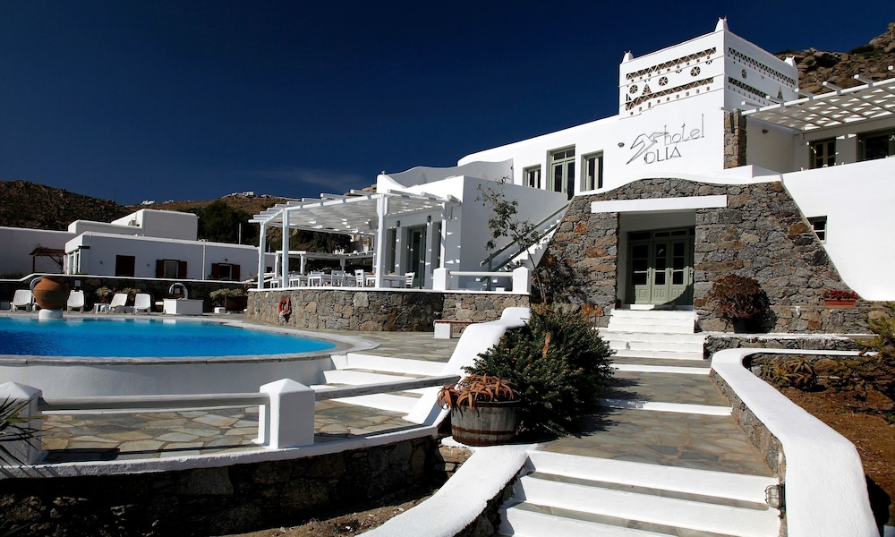 book olia hotel mykonos hotel deals. Black Bedroom Furniture Sets. Home Design Ideas