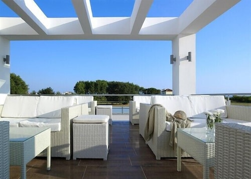 Terrace/Patio, Hotel Ionian Theoxenia