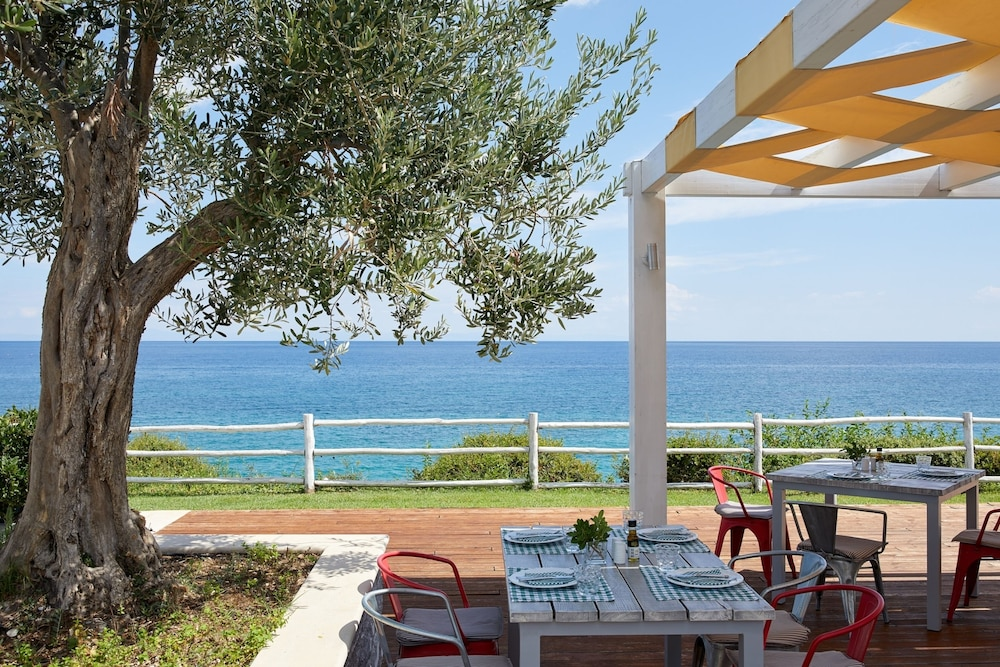 Outdoor Dining, Cavo Olympo Luxury Hotel & Spa - Adults Only