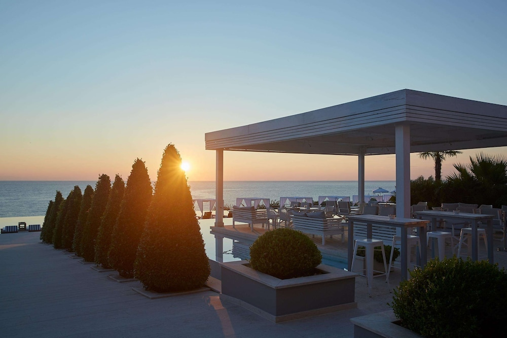 Terrace/Patio, Cavo Olympo Luxury Hotel & Spa - Adults Only
