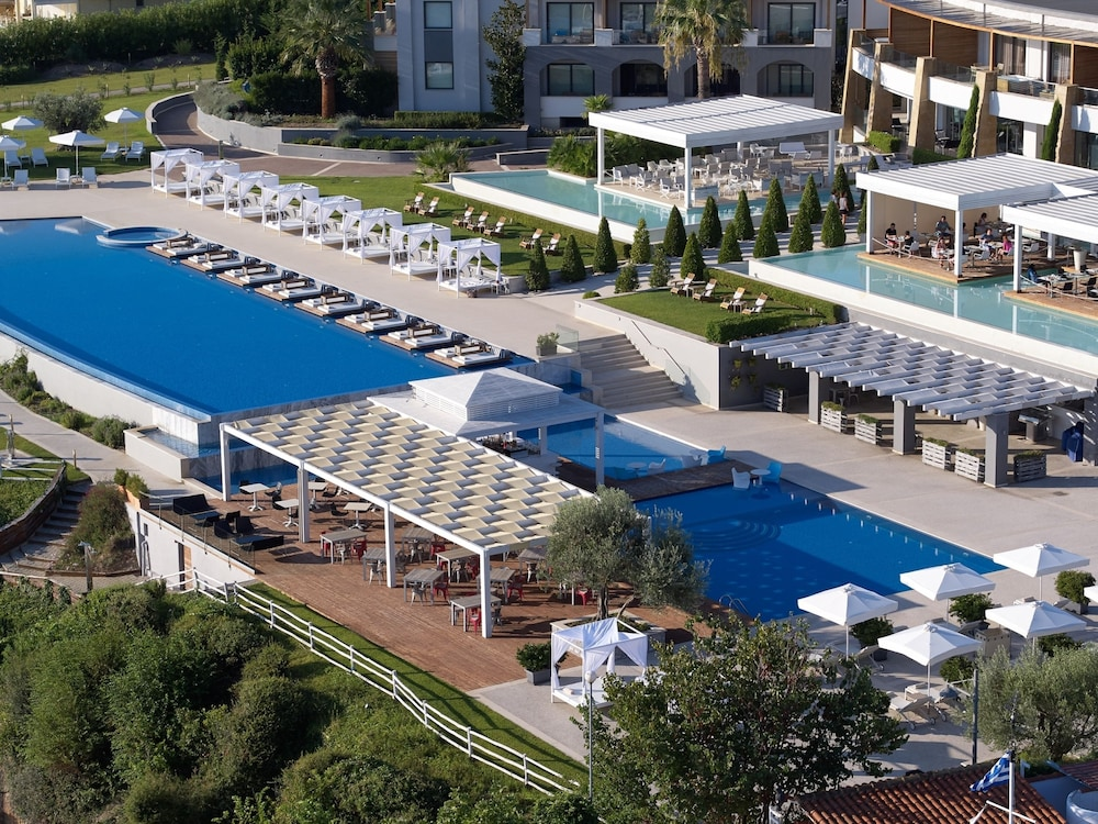 Aerial View, Cavo Olympo Luxury Hotel & Spa - Adults Only