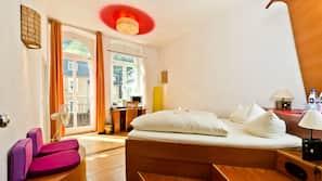 Allergikerbettwaren, Minibar, individuell dekoriert