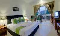 Deluxe Double Room, Balcony, City View