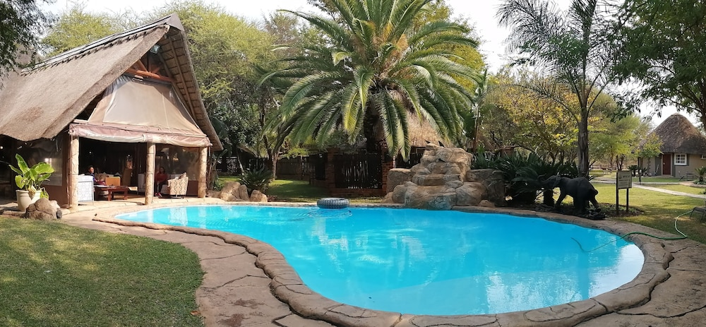 Outdoor Pool, Ditholo Game Lodge