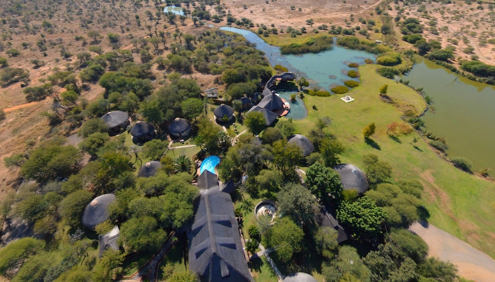 Aerial View, Ditholo Game Lodge