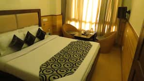 In-room safe, blackout curtains, iron/ironing board, rollaway beds