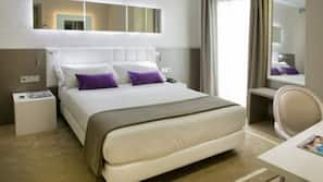 Egyptian cotton sheets, premium bedding, down duvets, memory-foam beds