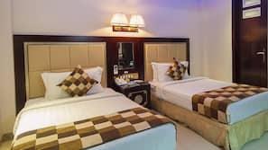 Premium bedding, memory foam beds, rollaway beds, free WiFi