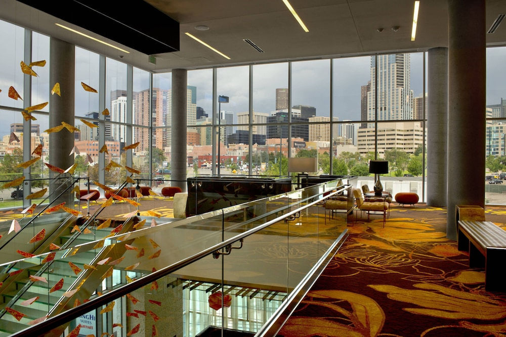 Lobby, SpringHill Suites by Marriott Denver Downtown