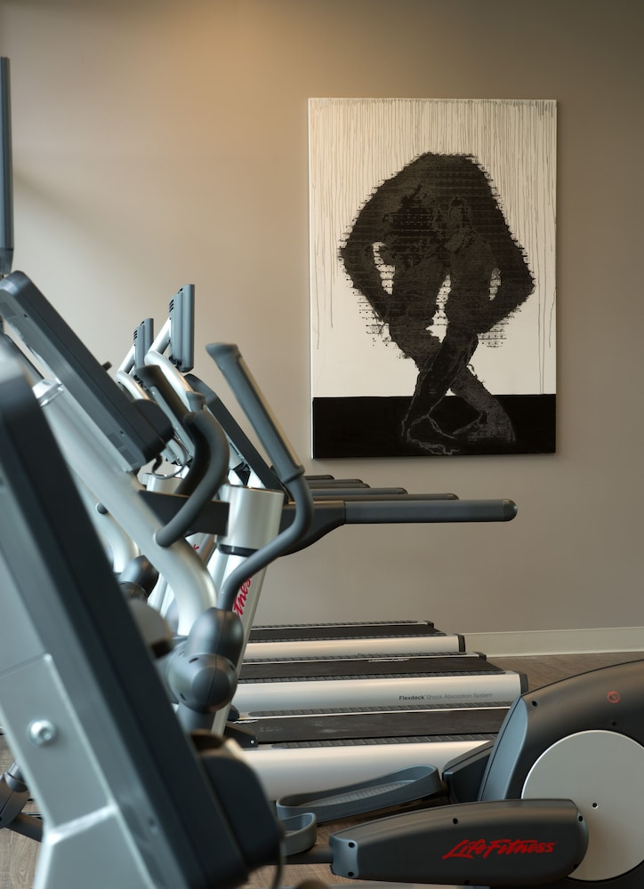 Fitness Facility, SpringHill Suites by Marriott Denver Downtown