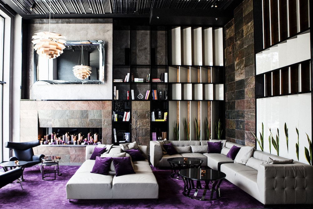 city view featured image lobby - Violet Hotel Design