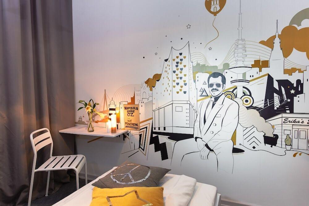 pyjama park st pauli hamburg hotelbewertungen 2019. Black Bedroom Furniture Sets. Home Design Ideas