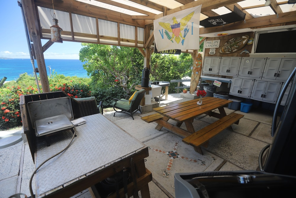 Living Area, Virgin Islands Campground