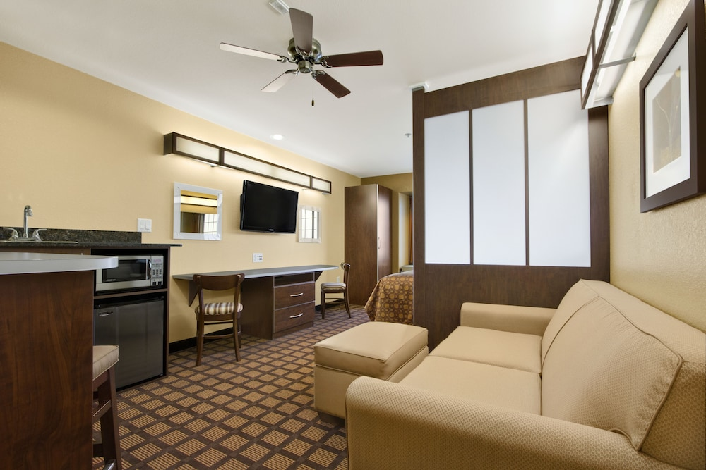 Living Area, Microtel Inn & Suites by Wyndham Buda Austin South