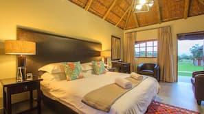 6 bedrooms, premium bedding, in-room safe, desk