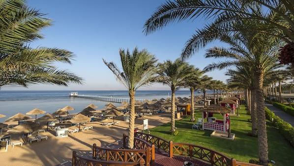 Pantai pribadi dan antar-jemput gratis ke pantai