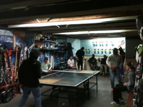 Game Room, The Hostel
