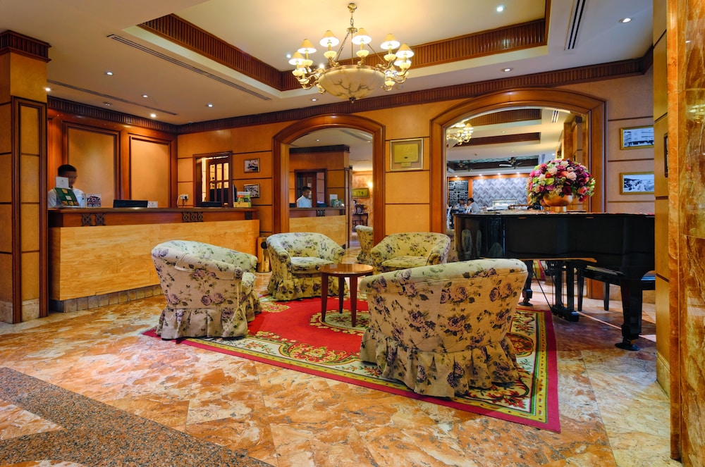 Reception, The Jesselton Hotel