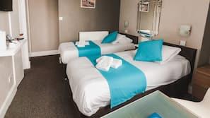 Premium bedding, Select Comfort beds, iron/ironing board