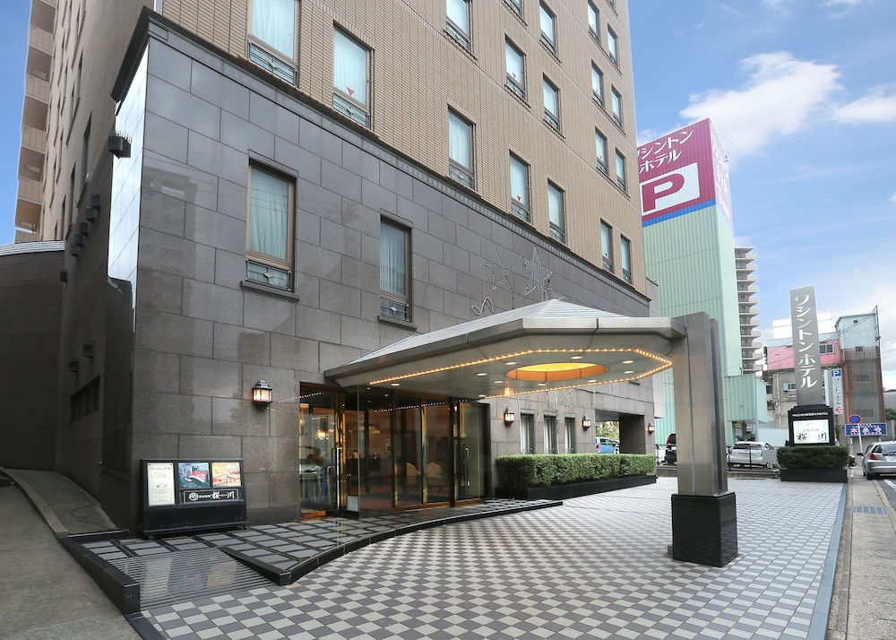Property Entrance, Sasebo Washington Hotel