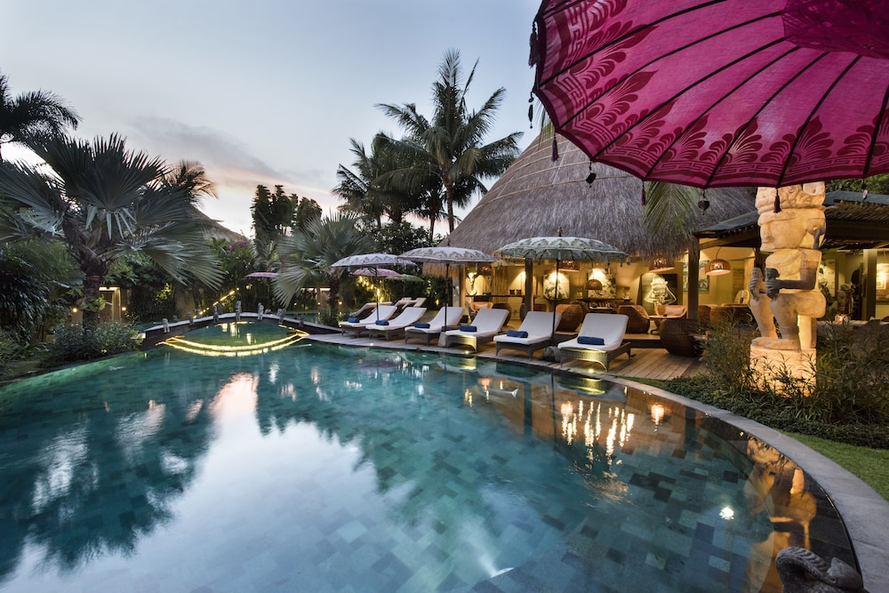 Outdoor Pool, Blue Karma Dijiwa Seminyak
