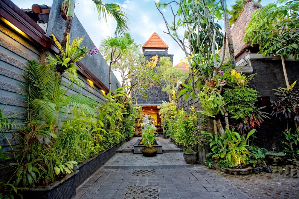 Interior Entrance, The Bali Dream Villa Seminyak