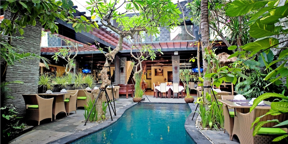 Outdoor Dining, The Bali Dream Villa Seminyak