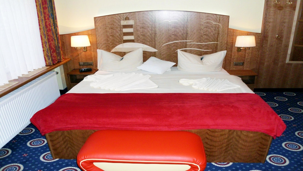 Room, Hotel Deutsche Flagge