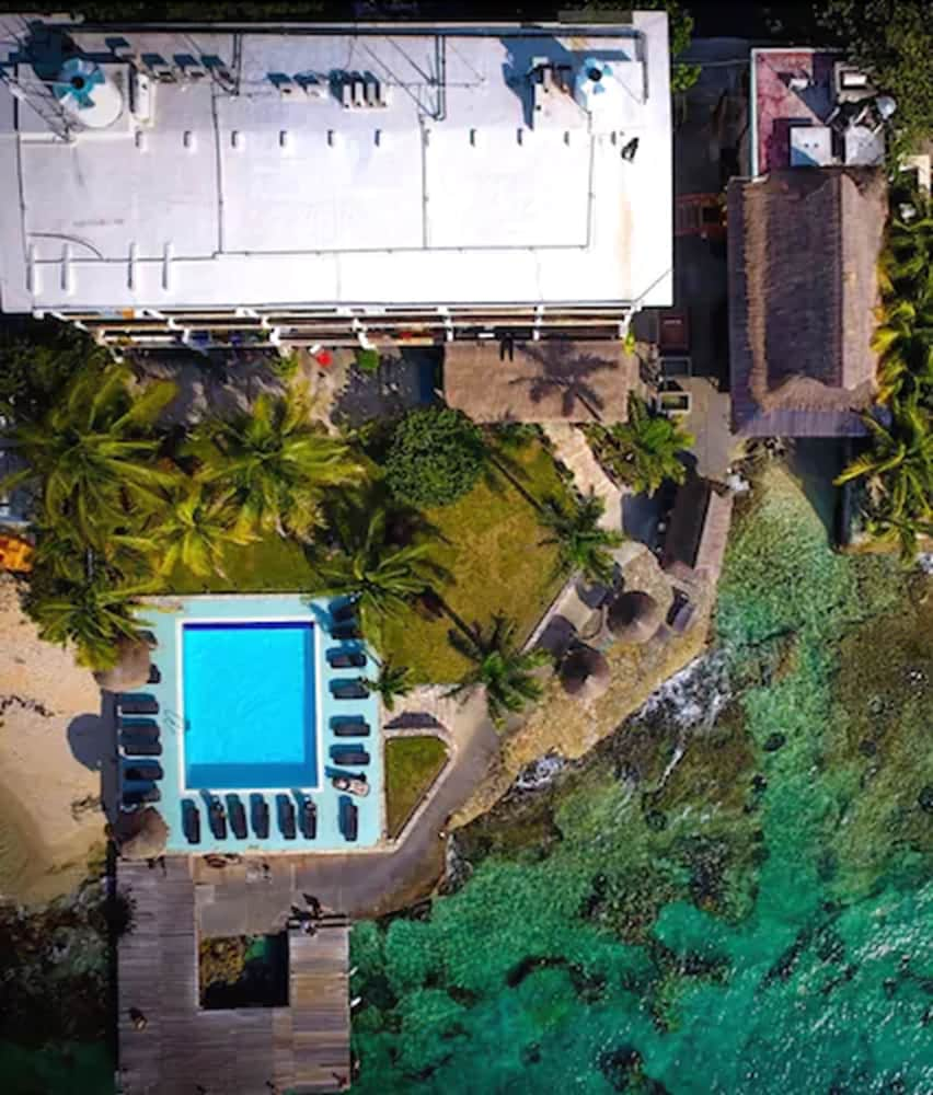 Aerial View, Blue Angel Resort
