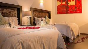 Ropa de cama de alta calidad y decoración individual