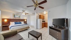Select Comfort beds, in-room safe, iron/ironing board, free WiFi