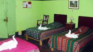 Camas supletorias (de pago) y ropa de cama