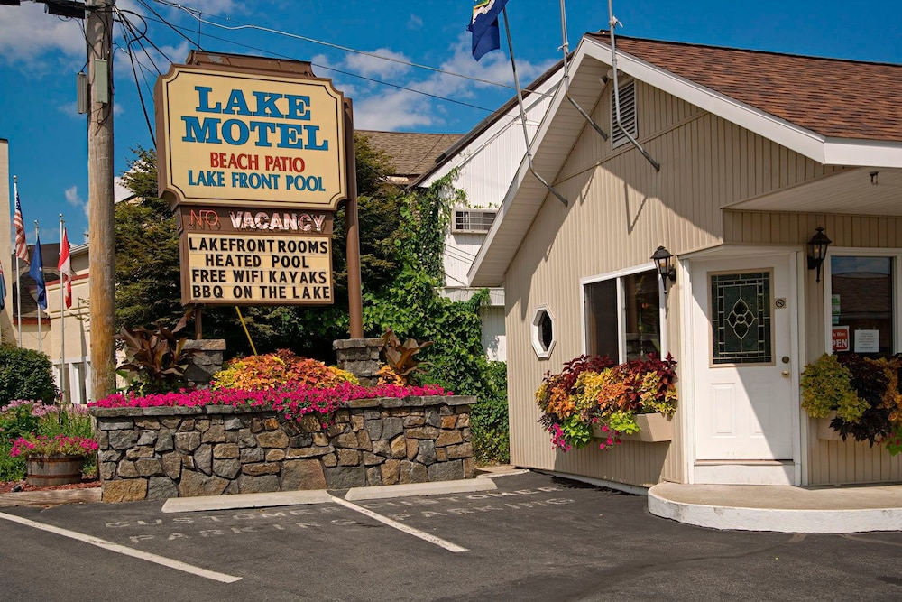 Front of Property, The Lake Motel