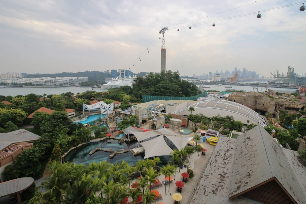 View from Property, Resorts World Sentosa - Equarius Hotel