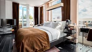Egyptian cotton sheets, premium bedding, pillow-top beds