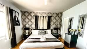 Luxe beddengoed, pillowtop-bedden, individueel gedecoreerd