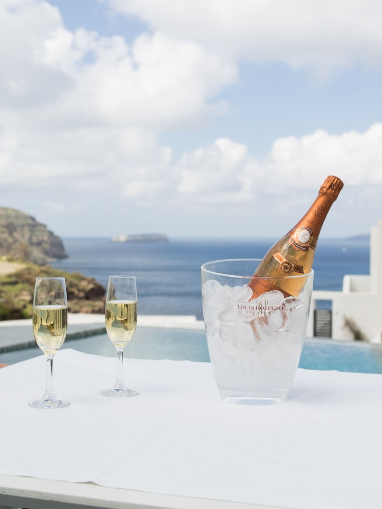 Champagne service, Ambassador Aegean Luxury Hotel and Suites