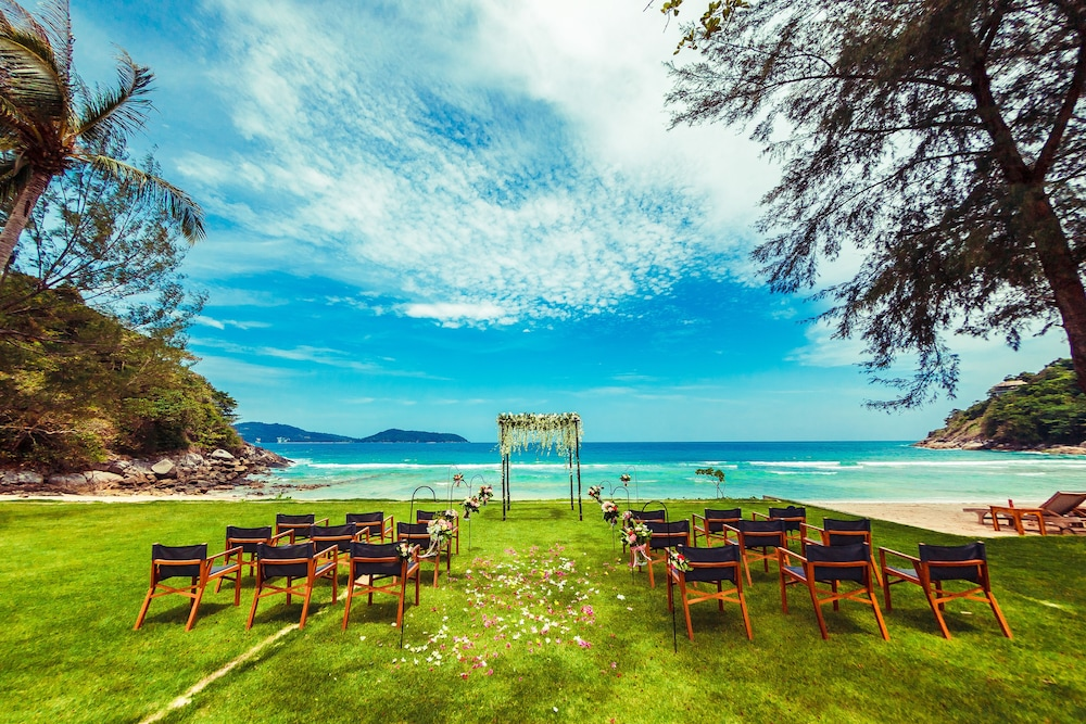 Outdoor Wedding Area, The Naka Phuket