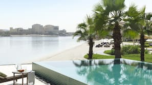 2 outdoor pools, open 7:00 AM to 8:00 PM, free pool cabanas