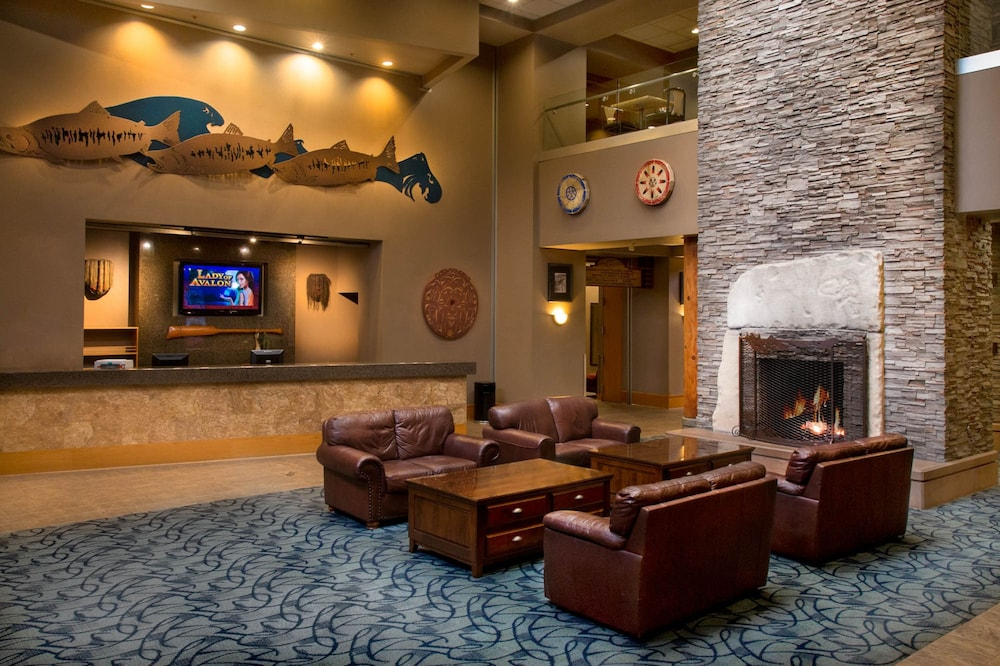 Interior Entrance, Little Creek Casino Resort