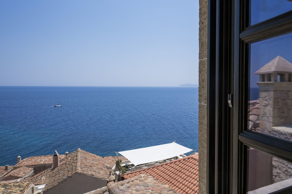 View from Property, Moni Emvasis Luxury Suites