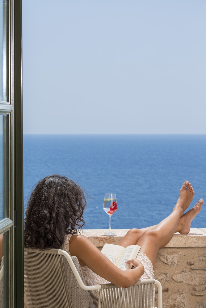 Balcony, Moni Emvasis Luxury Suites