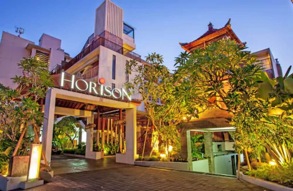 Front of Property - Evening/Night, Horison Seminyak Bali