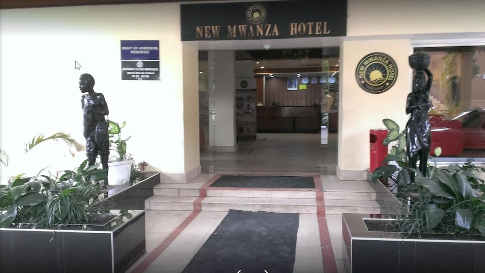 Property Entrance, New Mwanza Hotel