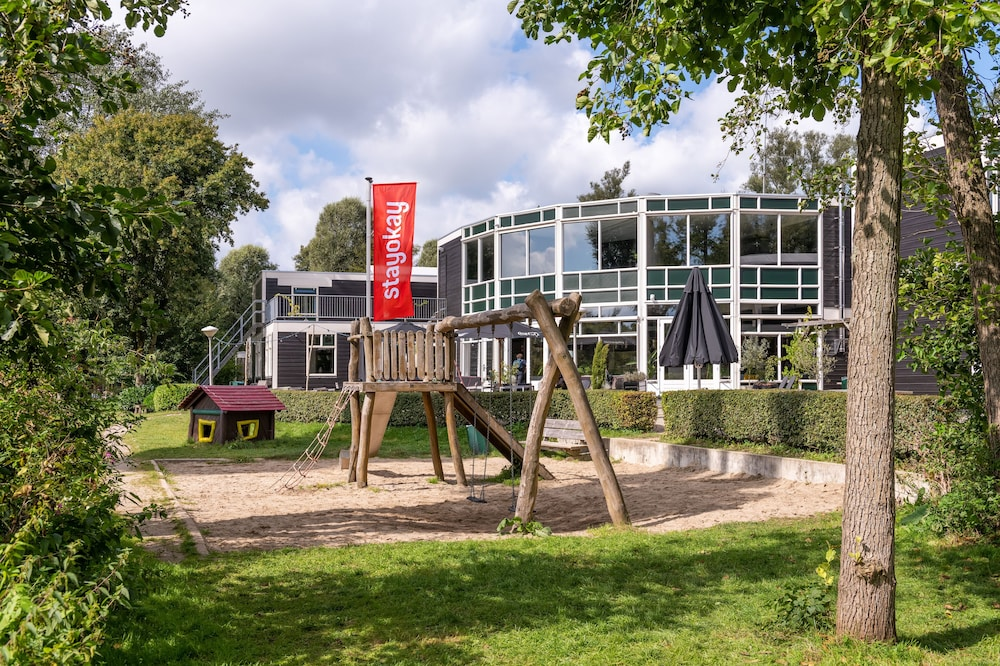 Children's Play Area - Outdoor, Stayokay Dordrecht - Nationaal Park De Biesbosch Hostel