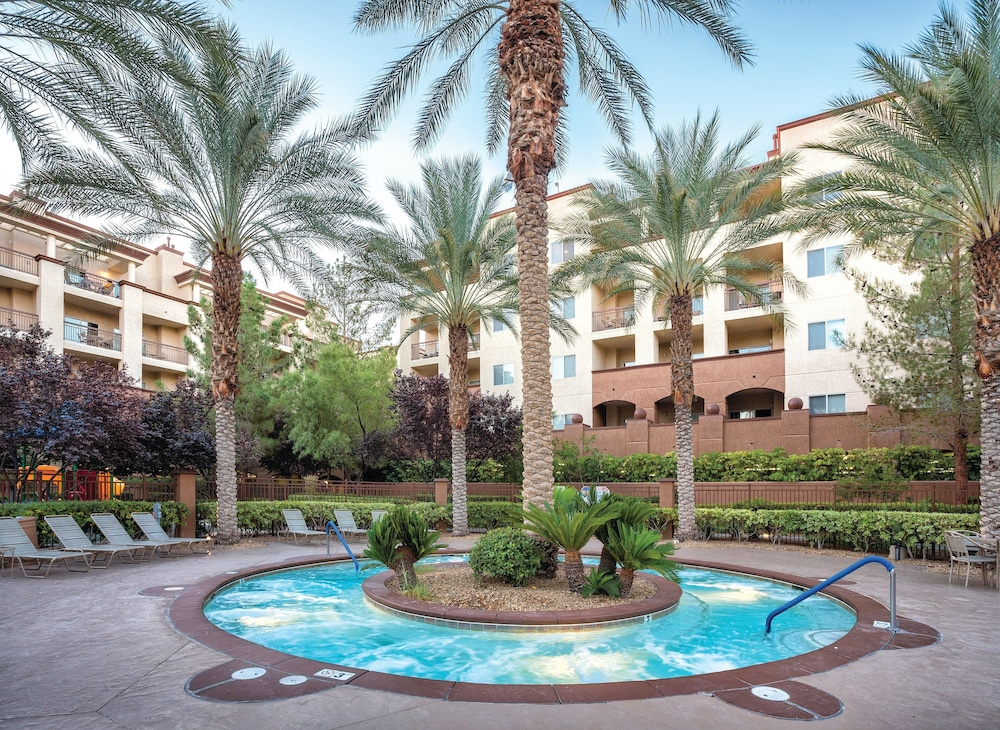Outdoor Spa Tub, WorldMark Las Vegas - Boulevard