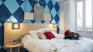Decoración individual, camas supletorias (de pago), wifi gratis