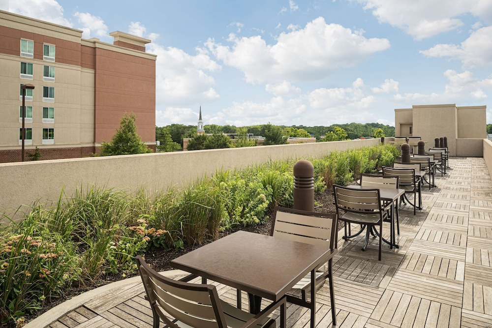 Terrace/Patio, Homewood Suites Springfield VA