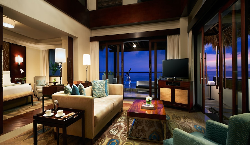 Living Room, Samabe Bali Suites & Villas