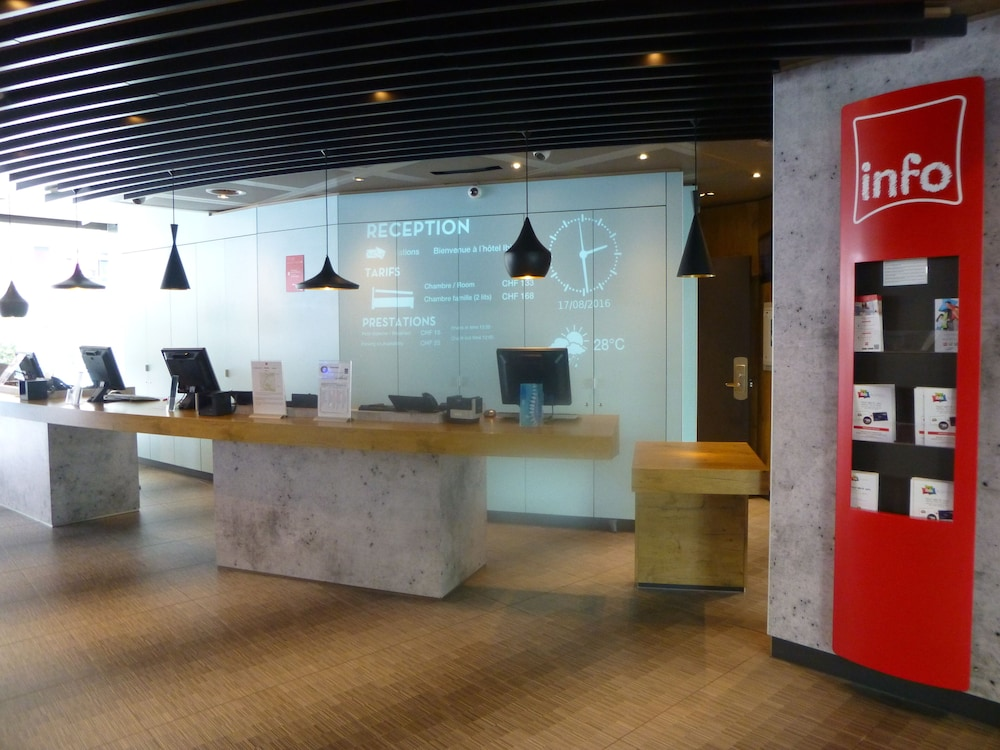Reception, ibis Geneve Centre Nations